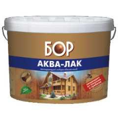 КВАДРОСТРОЙ / Аква-лак БОР лессирующий водоразбавляемый махагон 0,9кг Воронеж