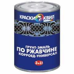 КВАДРОСТРОЙ / Грунт-эмаль КОРРОЕД - УНИВЕРСАЛ по ржавчине синий 1,9кг Воронеж