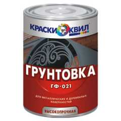 КВАДРОСТРОЙ / Грунтовка КВИЛ ГФ-021 серый 23кг Воронеж
