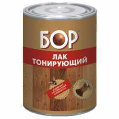 КВАДРОСТРОЙ / Лак тонирующий алкидный БОР красное дерево 0,750кг Воронеж