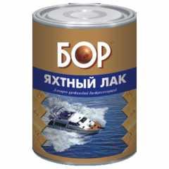 КВАДРОСТРОЙ / Лак яхтный БОР д/нар. работ, атмосферо-водостойкий матовый 16кг Воронеж