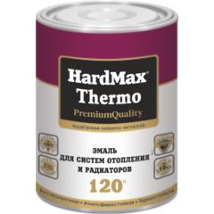 Эмаль для систем отопления и радиаторов HardMax Thermo до 120°С/ белоснежный 1,9кг. Воронеж краски Квадрострой.