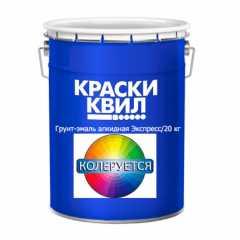 Грунт-эмаль алкидная 2 в 1 Экспресс. Воронеж краски Квадрострой