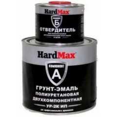Грунт-эмаль полиуретановая УР-2К ИП Hard Max/ RAL9004 сигнальный черный (1,9кг/комплект) Воронеж. Магазин краски КВАДРОСТРОЙ