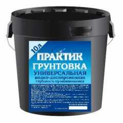 КВАДРОСТРОЙ / Грунтовка акриловая Практик универсальная 10л Воронеж
