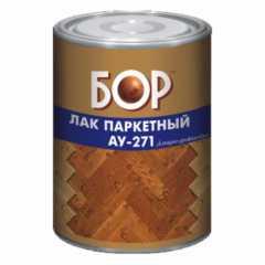 КВАДРОСТРОЙ / Лак паркетный БОР АУ-271 алкидно-уретановый матовый 8кг Воронеж