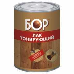 КВАДРОСТРОЙ / Лак тонирующий алкидный БОР красное дерево 2,7кг Воронеж