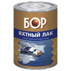 КВАДРОСТРОЙ / Лак яхтный БОР д/нар. работ, атмосферо-водостойкий матовый 8кг Воронеж